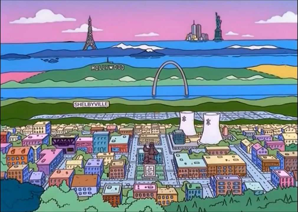 - Screenshot 1 - The Simpsons – Definitive Springfield Position